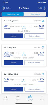 Cheap flights from Chisinau